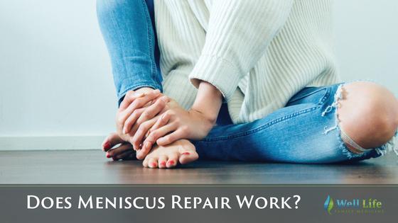 does meniscus repair work