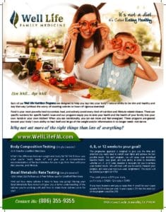 thumbnail of Nutrition Flyer